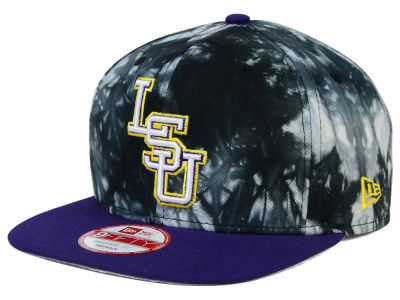 LSU Tigers New Era NCAA Overcast 9FIFTY Snapback Cap