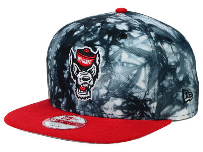 North Carolina State Wolfpack New Era NCAA Overcast 9FIFTY Snapback Cap
