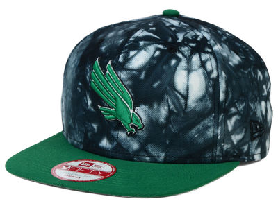 North Texas Mean Green New Era NCAA Overcast 9FIFTY Snapback Cap