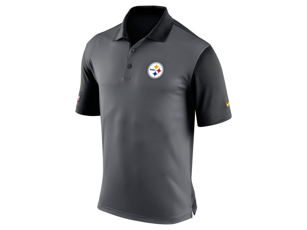 bf376a594 Pittsburgh Steelers Nike NFL Men s Preseason Polo Shirt