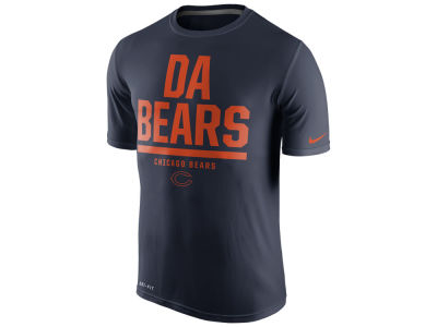 Chicago Bears Nike NFL Men's Local Legend Verbiage T-Shirt