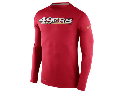San Francisco 49ers Nike NFL Men's Dri Fit Touch Long Sleeve T-Shirt