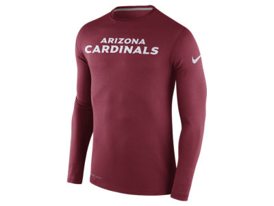 Arizona Cardinals Nike NFL Men's Dri Fit Touch Long Sleeve T-Shirt