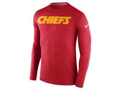 Kansas City Chiefs Nike NFL Men's Dri Fit Touch Long Sleeve T-Shirt