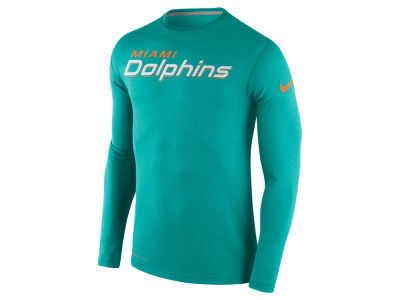 Miami Dolphins Nike NFL Men's Dri Fit Touch Long Sleeve T-Shirt
