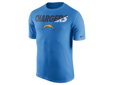 San Diego Chargers Nike NFL Men's Legend Staff Practice T-Shirt