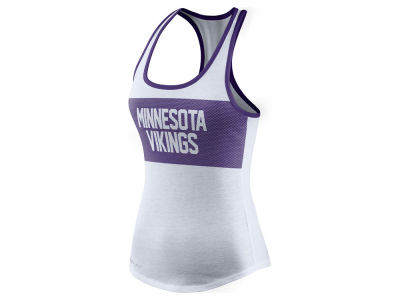 Minnesota Vikings Nike NFL Women's Dri Performance Tank