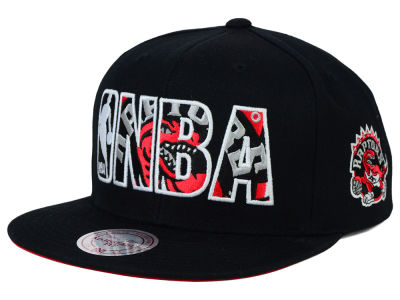 Toronto Raptors Mitchell and Ness NBA Insider Snapback Cap