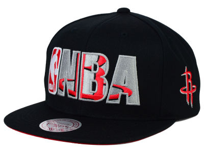 Houston Rockets Mitchell and Ness NBA Insider Snapback Cap