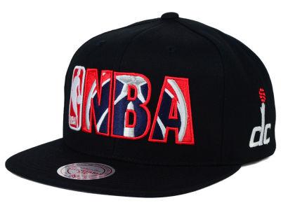 Washington Wizards Mitchell and Ness NBA Insider Snapback Cap