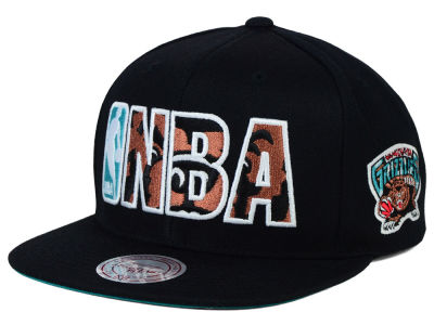 Vancouver Grizzlies Mitchell and Ness NBA Insider Snapback Cap