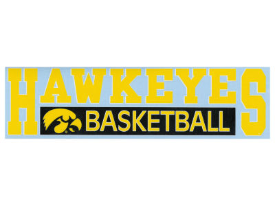 "Iowa Hawkeyes Decal Stockdale 3""X11"""