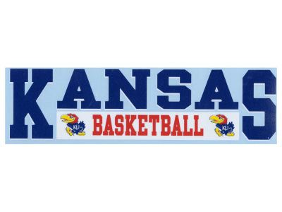 "Kansas Jayhawks Decal Stockdale 3""X11"""