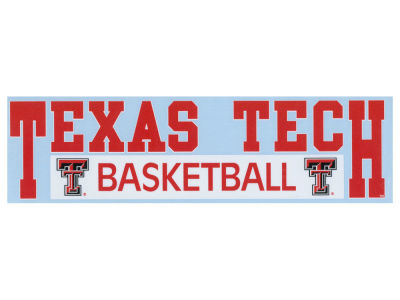 "Texas Tech Red Raiders Decal Stockdale 3""X11"""