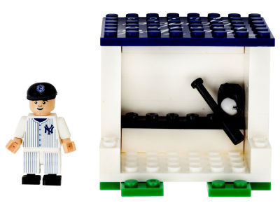New York Yankees Derek Jeter OYO Curtain Call Dugout Set