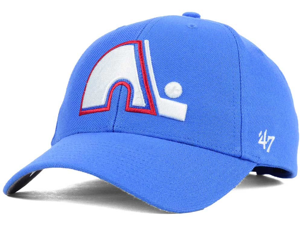 brand new bbfbd 01a8f ... purchase quebec nordiques 47 nhl curved 47 mvp cap 8d49d 4cd4e