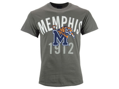 Memphis Tigers Blue 84 NCAA Men's Mill Dyed T-Shirt