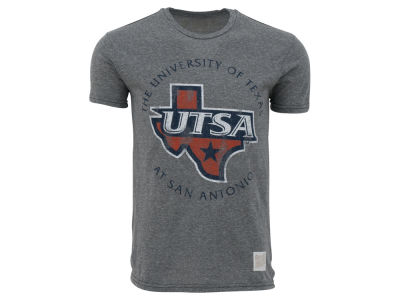 University of Texas San Antonio Roadrunners Retro Brand NCAA Triblend Streaky T-Shirt