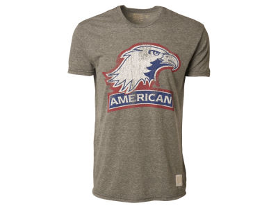 American University Eagles Retro Brand NCAA Triblend Streaky T-Shirt