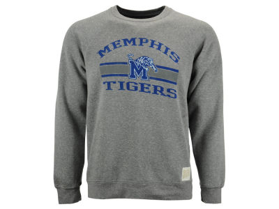 Memphis Tigers Retro Brand NCAA Triblend Crew Fleece