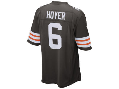 Cleveland Browns Brian Hoyer Nike NFL Men's Game Jersey