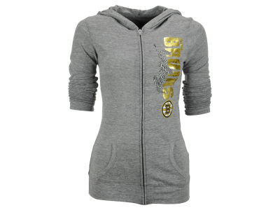 Boston Bruins Reebok NHL Women's Foil Lace Hoodie
