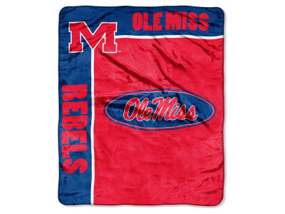 Ole Miss Rebels 50x60in Plush Throw Blanket