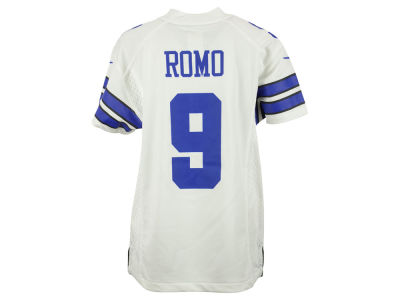 Dallas Cowboys Tony Romo Nike NFL Youth Game Jersey