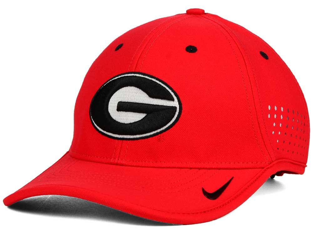 Georgia Bulldogs Nike NCAA Dri-FIT Coaches Cap  0fdb058750f