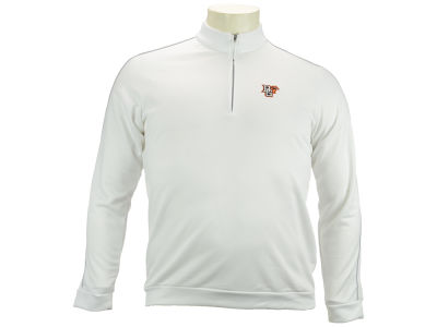 Bowling Green Falcons adidas NCAA 3 Stripes Piped Quarter Zip Pullover