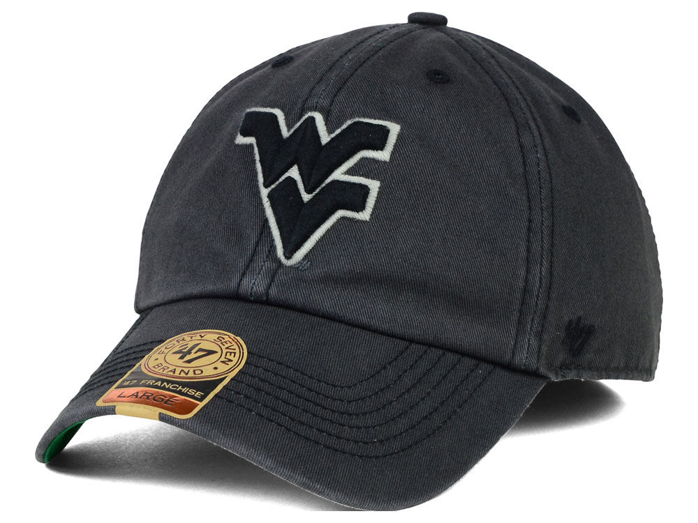 check out 60a1e 02feb ... france west virginia mountaineers 47 ncaa sachem 47 franchise cap lids  c44f3 38873