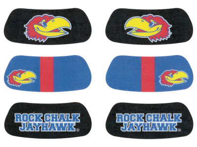 Kansas Jayhawks 3-pack Eyeblack Stickers