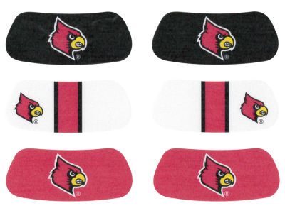 Louisville Cardinals 3-pack Eyeblack Stickers