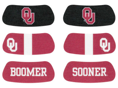 Oklahoma Sooners 3-pack Eyeblack Stickers