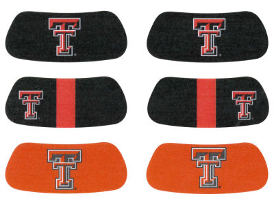 Texas Tech Red Raiders 3-pack Eyeblack Stickers
