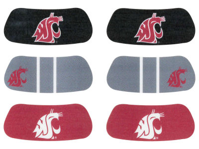Washington State Cougars 3-pack Eyeblack Stickers