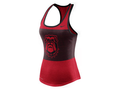 Georgia Bulldogs Nike NCAA Women's Dri-Blend Mesh Tank