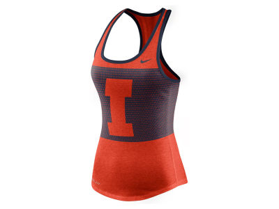 Illinois Fighting Illini Nike NCAA Women's Dri-Blend Mesh Tank