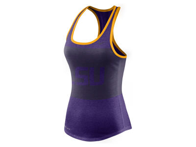 LSU Tigers Nike NCAA Women's Dri-Blend Mesh Tank