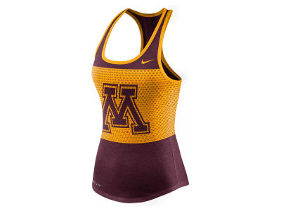 Minnesota Golden Gophers Nike NCAA Women's Dri-Blend Mesh Tank