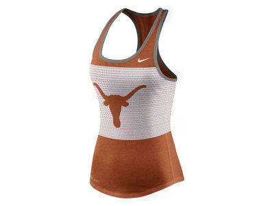 Texas Longhorns Nike NCAA Women's Dri-Blend Mesh Tank