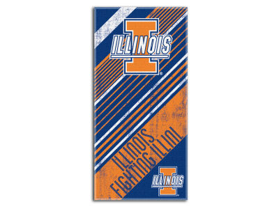 Illinois Fighting Illini Beach Towel