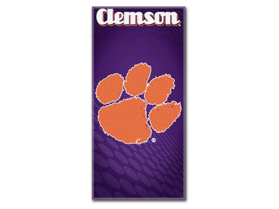 Clemson Tigers Beach Towel Emblem
