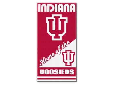 Indiana Hoosiers Beach Towel Home NCAA