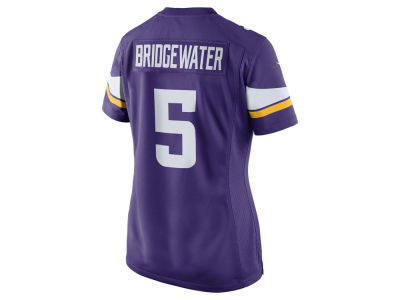 Minnesota Vikings Teddy Bridgewater Nike NFL Women's Game Jersey