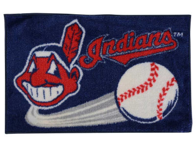 Cleveland Indians Tufted Rug 20x30