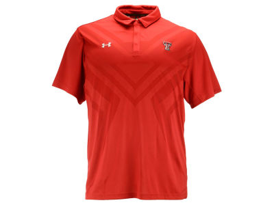Texas Tech Red Raiders Under Armour NCAA Men's Scout Polo 3XL-4XL Shirt