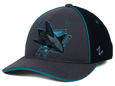 San Jose Sharks Zephyr NHL Phantom Flex Hat