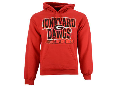 Georgia Bulldogs NCAA Men's NWG Distressed Name Hoodie