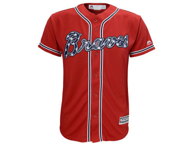 Atlanta Braves MLB Youth Blank Replica Jersey